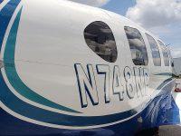 Plane Travel Air - Piper N748NP Navajo Aircraft